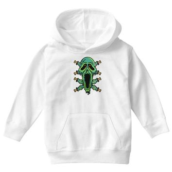 zombie smile Youth Hoodie