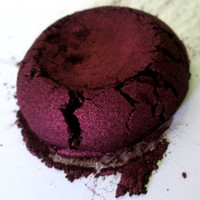 Sinful - Burgundy Eye Shadow - Natural - Mineral