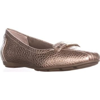 GB35 Jileese Casual Loafer Flats, Oro roc, 7 US