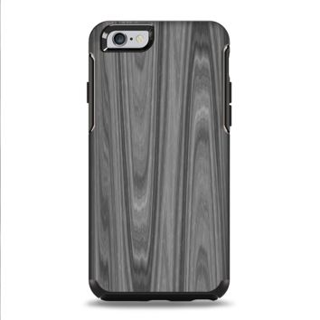 The Grayscale Smooth Woodgrain Apple iPhone 6 Plus Otterbox Symmetry Case Skin