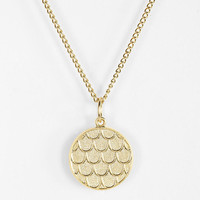 Urban Outfitters - Urban Renewal Textured Circle Necklace