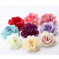 Beautiful Flower Hair Clip in Women's Hair Accessories Hairpins Female Girls Pony Floral Headwear Barrettes Woman Hair Ornament