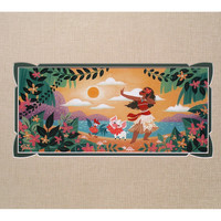 Disney Parks Moana Afternoon Dance Deluxe Print by Sastrawinata New