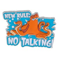 Disney Parks Finding Dory New Rule Hank No Talking Pin New with Card