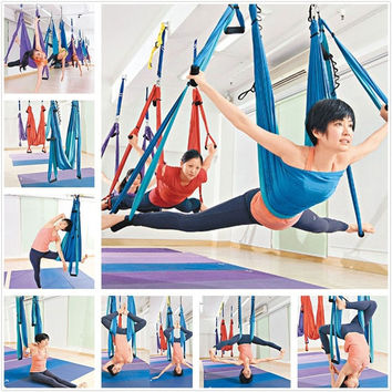 High Strength Inversion Anti-Gravity Aerial Yoga Swing Hanging = 1933051588