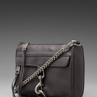 Rebecca Minkoff Mini MAC Clutch in Charcoal from REVOLVEclothing.com