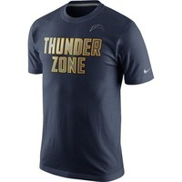 Men's San Diego Chargers Nike Navy Blue Reflective Pack T-Shirt