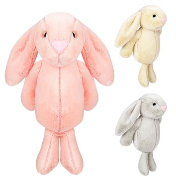 Stuffed Plush Animal Doll Lovely Plush Cute Big Ear Bunny Collection Easter Gift