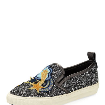 Coach Shooting Star Glitter Sneaker