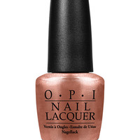 OPI Nail Lacquer, Worth a Pretty Penne - Makeup - Beauty - Macy's