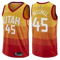 Jazz Mitchell The City Jerseys