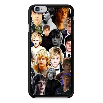 Evan Peters Collage 2 1 iPhone 6/6S Case