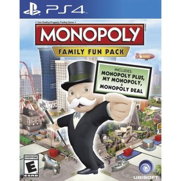 Monopoly Family Fun Pack (PS4) - Walmart.com