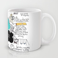 The Fault in Our Stars- John Green Mug by Natasha Ramon