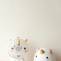 Elodie Unicorn Diffuser & USB Fan Combo