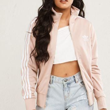 Adidas Graphic Longsleeve Zip Up Jacket