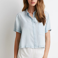 Boxy Chambray Shirt