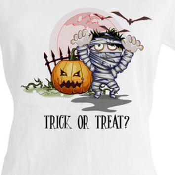 Trick or Treat woman Halloween shirt,halloween party ideas,girls halloween shirts,halloween tops,kids halloween costumes,halloween t shirts