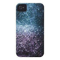 Space Glitter Case-mate Iphone 4 Cases from Zazzle.com
