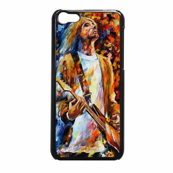 Vintage Classic Rock N Roll Collection Grunge Icon Nirvana Kurt Cobain Painting iPhone 5c Case