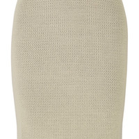Calvin Klein Collection - Perforated stretch-knit skirt