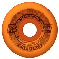 Spitfire F1 Parkburner Trujillo Clockwork Orange SFW Conical Wheels  52mm 98a (set of 4)