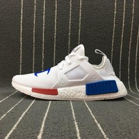 DCCKBE6 Adidas Boost Nmd Champion x Nmd Xr1 White Women Men Fashion Trending Running Sneakers