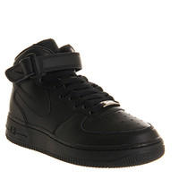 Nike Air Force 1 Mid Black - Office Girl