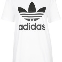 Trefoil Tee by adidas Originals - White