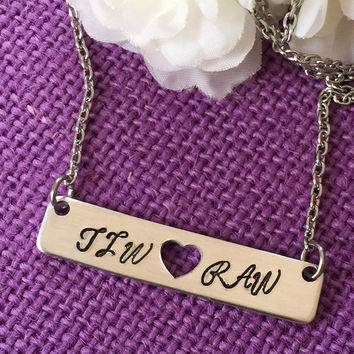 Couple Necklace - Bar Necklace - Initial Necklace - Personalized Jewelry - Name bar necklace - Gift for girlfriend  - gift for wife