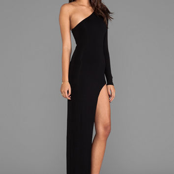 AQ/AQ Yoko Maxi Dress in Black