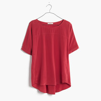 Silk Overlook Tunic Shirt