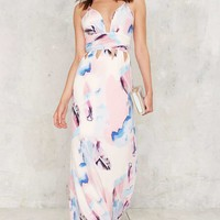 Broad Strokes Maxi Dress