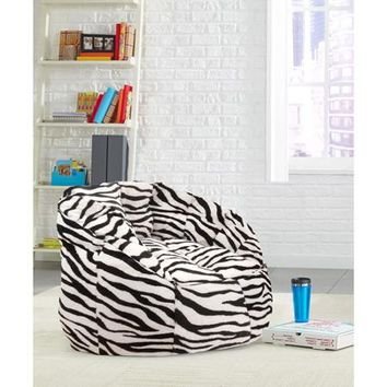 Cocoon Faux Fur Bean Bag Chair, Multiple Colors - Walmart.com