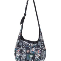DC Comics Batman Comic Panels Hobo Bag