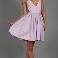 Contrarian > Contrarian Barbara Bibb Dress in Lavender - as seen on Taylor Swift @ Singer22.com - Fashion Men's & Women's Online Clothing Store