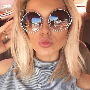 Winla Fashion Sexy Cat Eye Sunglasses Women