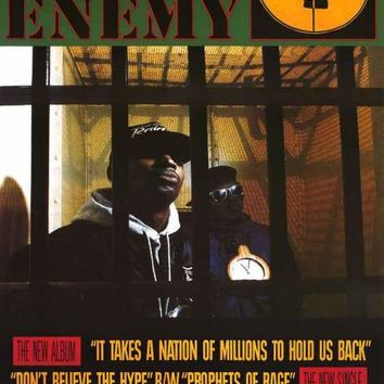 Public Enemy It Takes A Nation of Millions Poster 24x33
