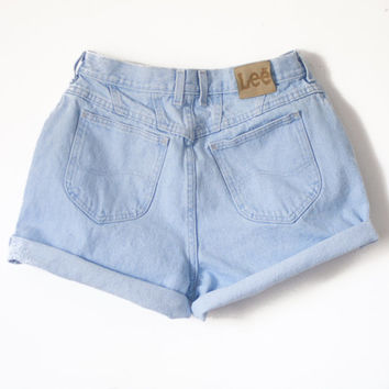 Made to Order High Waisted Vintage Jean Shorts Cutoff ALL SIZES, Guess, Lee, Riders, Wrangler, etc.. Summer Shorts, made 4 U. S-XXL 80s 90s