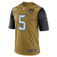 Nike NFL Jacksonville Jaguars (Blake Bortles) Men's Football Color Rush Limited Jersey