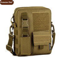 Protector Plus Men's Handbag Shoulder Bags Molle Leisure Camera Mochila Military Messenger Bags Men Free Shipping D144