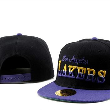 Los Angeles Lakers Cap Snapback Hat - Ready Stock