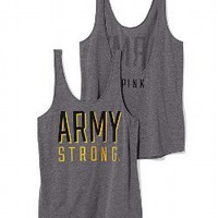 Army Low Back Tank - PINK - Victoria's Secret