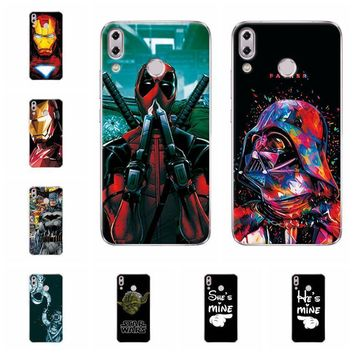 """Deadpool Dead pool Taco Charming  Spiderman For Asus ZenFone 5z ZS620KL Soft Phone Cases For Zenfone 5 2018 ZE620KL ASUS_X00QD 6.2"""" Back Cover AT_70_6"""