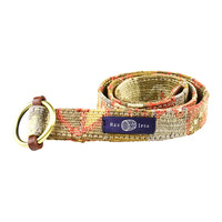 Kilim Belt in Tribal Khaki by Res Ipsa