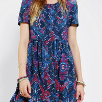Urban Outfitters - MINKPINK Button-Front Babydoll Dress