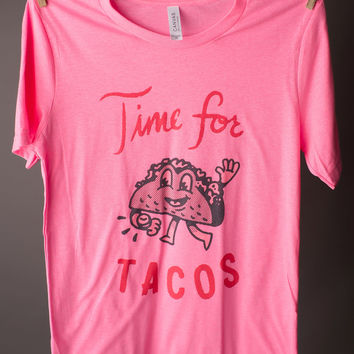 """Gina """"Time For Tacos"""" Tee"""