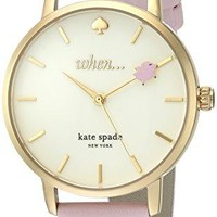 Metro Flying Pig Watch kate spade new york Leather Strap