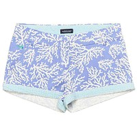 The Brighton Printed Reef Short in Lilac Purple by Southern Marsh