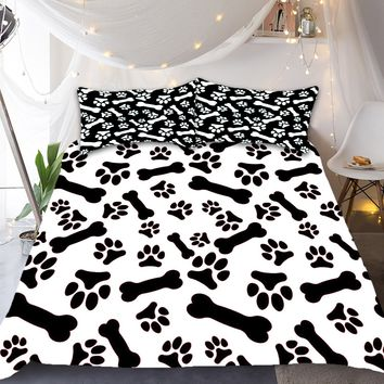 Dog & Bone Bedding Set